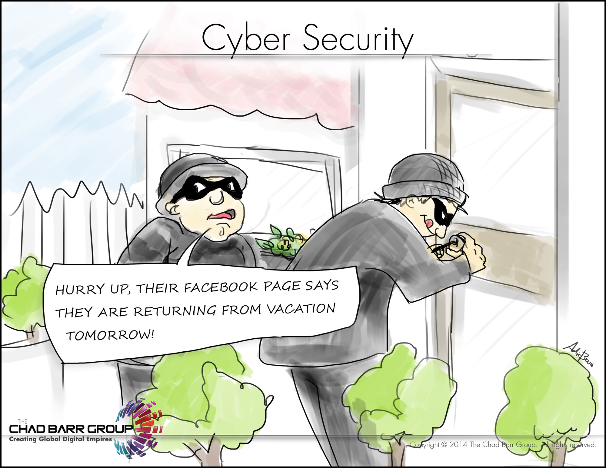 how to explain cyber security
