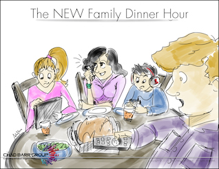 The NEW Family Dinner Hour